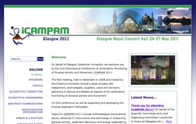 ICAMPAM 2011 website